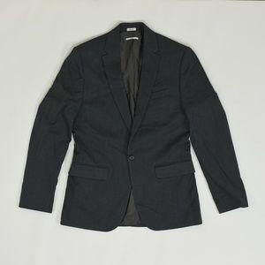 Calvin Klein Regular S Gray   Sport Coat Blazer Po